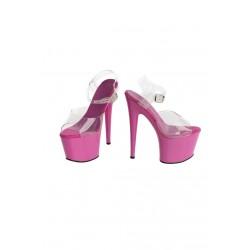 Buty- różowe platformy 36 -