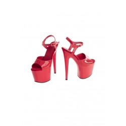 Buty- czerwone platformy 39 -