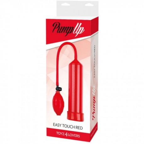 Pompka-Sviluppatore a pompa pump up easy touch red -