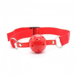 Knebel-Easy Breathable Ball Gag (rosso) -