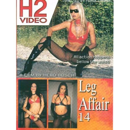 DVD-Hustler Leg Affair 14 - DVD mix