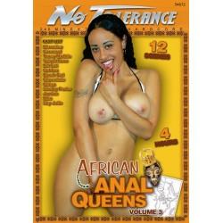 DVD-No tolerance African Anal Queens 3DVD mix