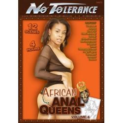DVD-No Tolerance African Anal Queens 4DVD mix