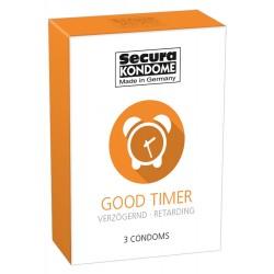 Prezerwatywy-Secura Good Timer3er - Secura