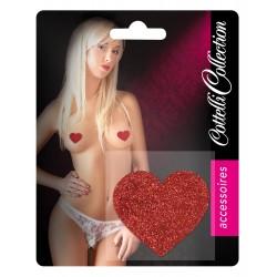 Bielizna-Nipplesticker Heart - Cottelli ACCESSOIRES