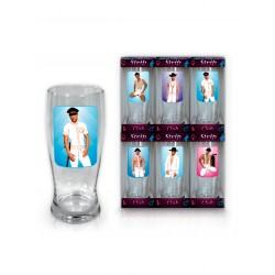 Szkło-Szklanka do piwa 0,5 l Strip Club Mężczyźni - HOT SHOT