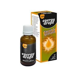 Supl.diety-Energy Drops-30ml Taurin & Guarana  (m+w) - HOT