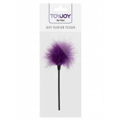 Pejcz-SEXY FEATHER TICKLER PURPLE -