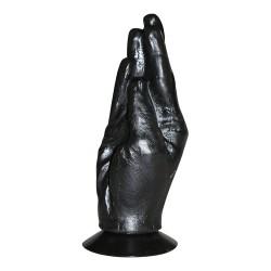 All Black Fisting Hand 18 cm - EDC