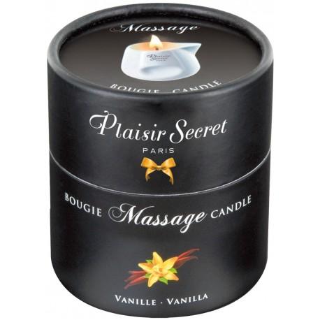 Massage Candle Vanilla 80ml - Plaisir Secret