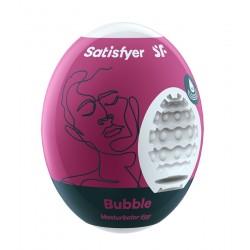 Masturbator Egg Single (Bubble) -